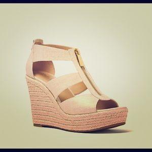 Michael Kors Damita Wedge Sandals